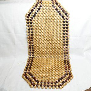vintage 1 beaded seat cover